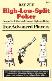 Cover of: High-low-split poker