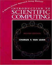 Cover of: Introduction to Scientific Computing | Charles F. Van Loan