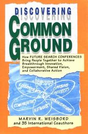 Cover of: Discovering Common Ground