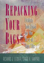 Cover of: Repacking your bags | Richard Leider