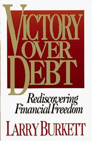 Cover of: Victory Over Debt