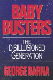 Cover of: Baby Busters: Disillusioned Generation