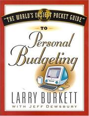Cover of: worlds easiest pocket guide to personal budgeting | Larry Burkett