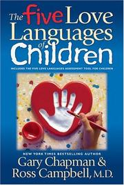 Cover of: The five love languages of children | Gary D. Chapman