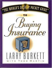 "Cover of: ""The world's easiest pocket guide"" to buying insurance"