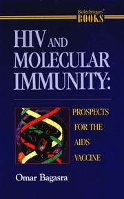 Cover of: HIV and molecular immunity
