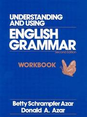 Cover of: Understanding and Using English Grammar | Betty Schrampfer Azar