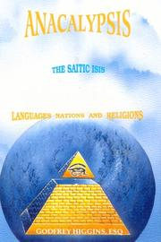 Cover of: Anacalypsis - The Saitic Isis