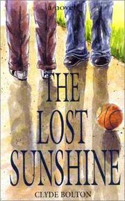 Cover of: The lost sunshine | Clyde Bolton