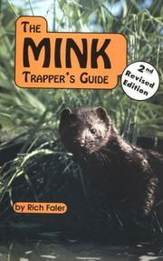 Cover of: The mink trapper's guide