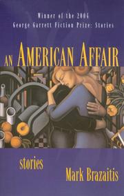 Cover of: An American Affair