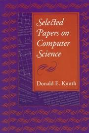Cover of: Selected Papers on Computer Science