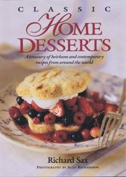 Classic Home Desserts by Richard Sax