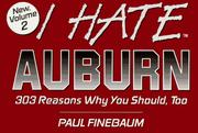 I hate Auburn by Paul Finebaum