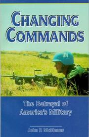 Cover of: Changing Commands | John F. McManus