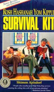 Cover of: Rosh Hashanah Yom Kippur Survival Kit