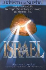 Cover of: Judaism in a Nutshell: Israel