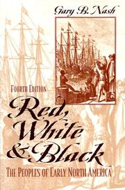 Cover of: Red, white, and Black | Gary B. Nash