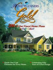 Cover of: Home Planners Gold | Home Planners Inc