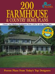 200 Farmhouse And Country Home Plans. By Home Planners Inc ... Nice Look