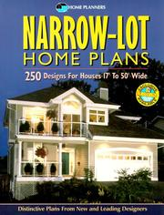 Cover of: Narrow Lot Home Plans | Home Planners