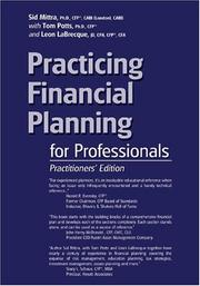Cover of: Practicing Financial Planning for Professionals, Practitioners' Version