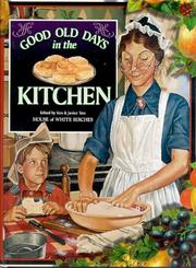 Good old days in the kitchen