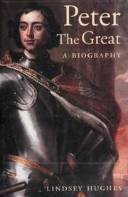 Cover of: Peter the Great |