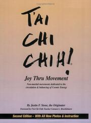 Tʻai chi chih by Justin F. Stone