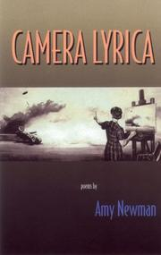 Cover of: Camera Lyrica: Poems