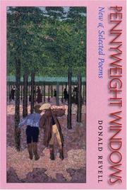Cover of: Pennyweight Windows | Donald Revell