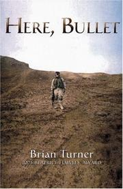 Cover of: Here, Bullet | Brian Turner