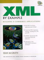 Cover of: XML by example