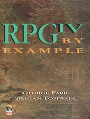 Cover of: RPG IV by example