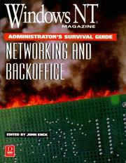 Cover of: Windows NT magazine administrator's survival guide