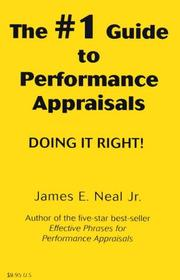 Cover of: The #1 guide to performance appraisals | James E. Neal