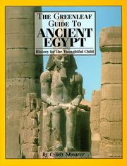 Cover of: The Greenleaf Guide to Ancient Egypt (Greenleaf Guides) (Greenleaf Guides)