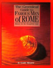 Cover of: The Greenleaf Guide to Famous Men of Rome