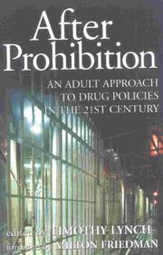 Cover of: After Prohibition