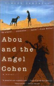Cover of: Abou and the Angel Cohen | Claude Campbell