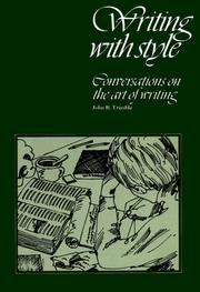 Cover of: Writing with style