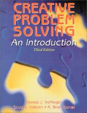 Cover of: Creative Problem Solving | Donald J. Treffinger