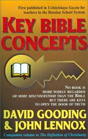 Cover of: Key Bible Concepts | David W. Gooding