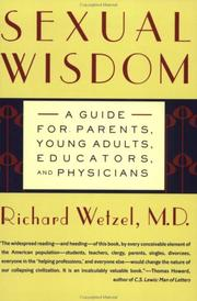 Cover of: Sexual wisdom | Wetzel, Richard M.D.