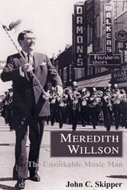 Cover of: Meredith Willson | John C. Skipper