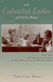 Cover of: The Embattled Ladies of Little Rock | Vivion Lenon Brewer
