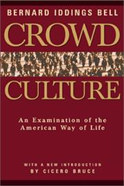 Cover of: Crowd culture
