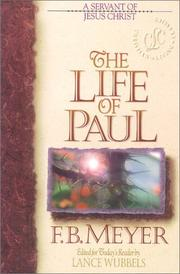 Cover of: The Life of Paul | Meyer, F. B.
