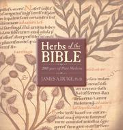 Cover of: Herbs of the Bible