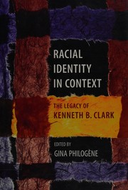 Cover of: Racial identity in context